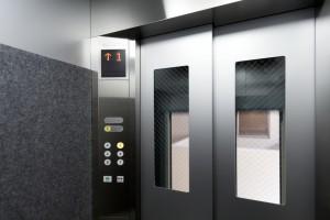 マンション(集合住宅)の窓付き防犯仕様エレベーター 339